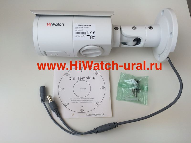 HD-TVI видеокамера HiWatch DS-T226