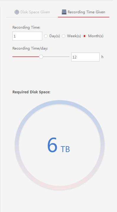 Инструкция расчета дискового пространства DiskCalculator_v4.0.0.2 HiWatch
